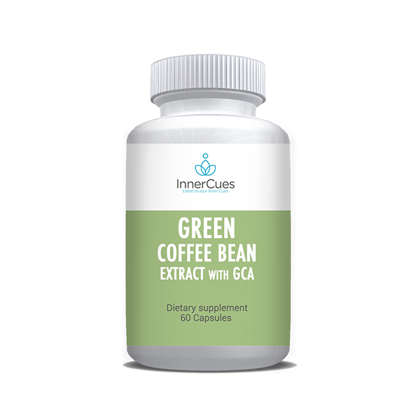 InnerCues Green Coffee Bean Extract with GCA
