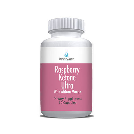 InnerCues Raspberry Ketone Ultra 600mg - 60 Caps