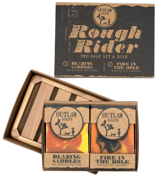 Outlaw - Handmade Bar Soap Gift Set - Rough Rider