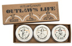 Outlaw - Solid Cologne Gift Set - The Outlaw's Life Trio