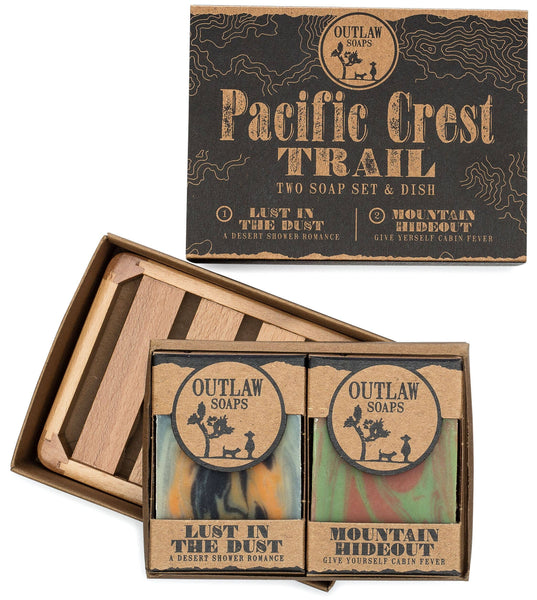 Outlaw - Handmade Bar Soap Gift Set - Pacific Crest Trail