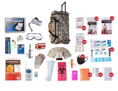 Premium 72 Hour Bug Out Bag for 2 People