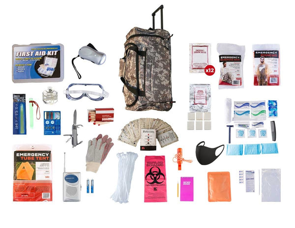Premium 72 Hour Bug Out Bag for 1 Person