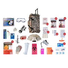 Premium 72 Hour Bug Out Bag for 4 People