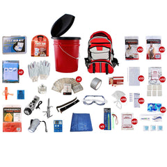 Premium 72 Hour Family Survival Kit for 10 People