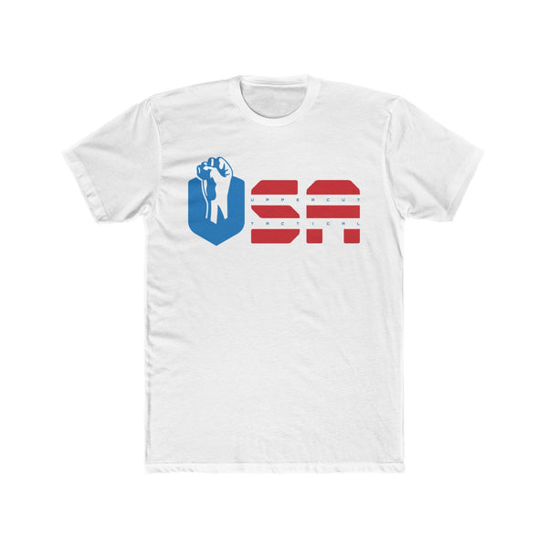 Uppercut Tactical - USA - Men's Cotton Crew Tee