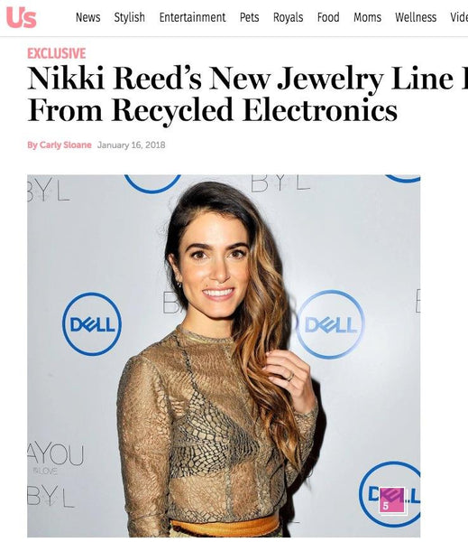 Nikki Reed's New Jewelry Line Is Made From Recycled Electronics