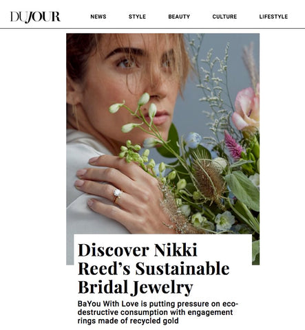 Nikki Reed BaYou With Love on DuJour