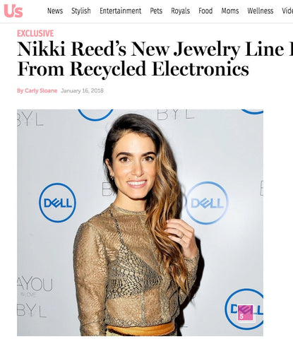 Nikki Reed BaYou With Love on US Magazine
