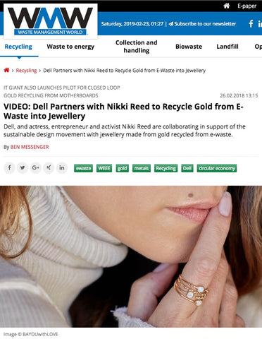 Nikki Reed BaYou With Love on Waste Management World