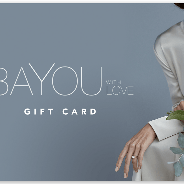 BAYOU WITH LOVE GIFT CARD Gift Card Bayou with Love