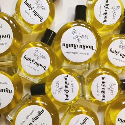 MOON ORGANIC OILS Beauty Rowsie Vain