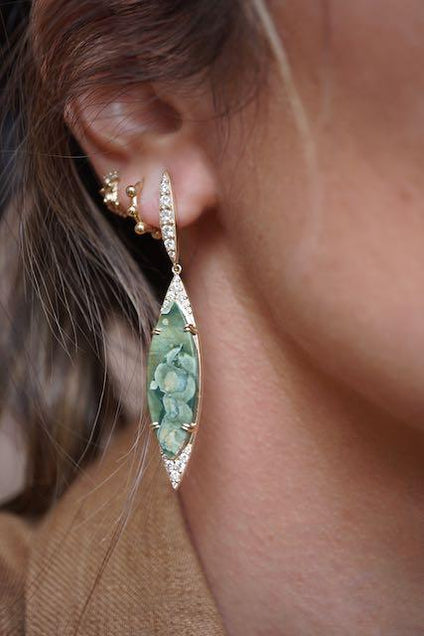 Bespoke Earrings Bespoke Jewelry Bayou with Love