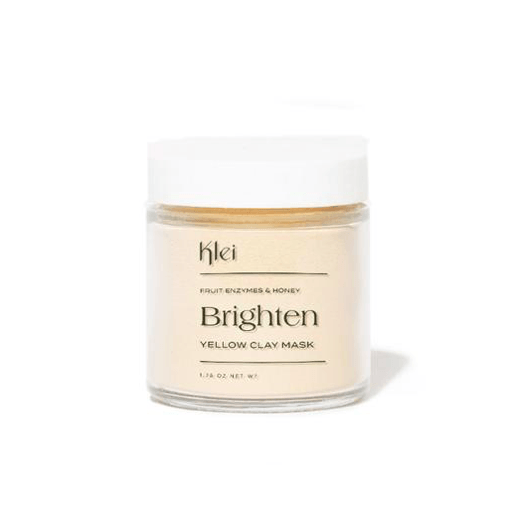 Brighten Fruit Enzymes & Honey Yellow Clay Mask Klei