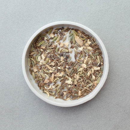 Digestive Seed Tea // Leaves and Flowers