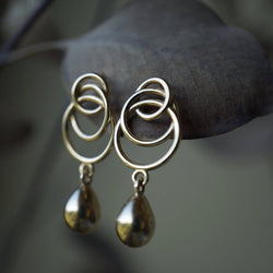 Nest Egg Drop Earrings Jewelry Bayou with Love