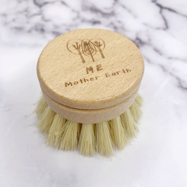 Long Handle Sisal Kitchen Brush- Refill Head Only Home Me Mother Earth
