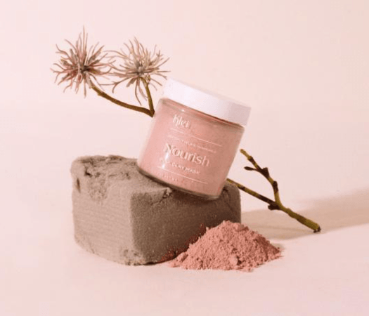 Nourish Coconut Milk & Chamomile Pink Clay Mask Beauty Klei