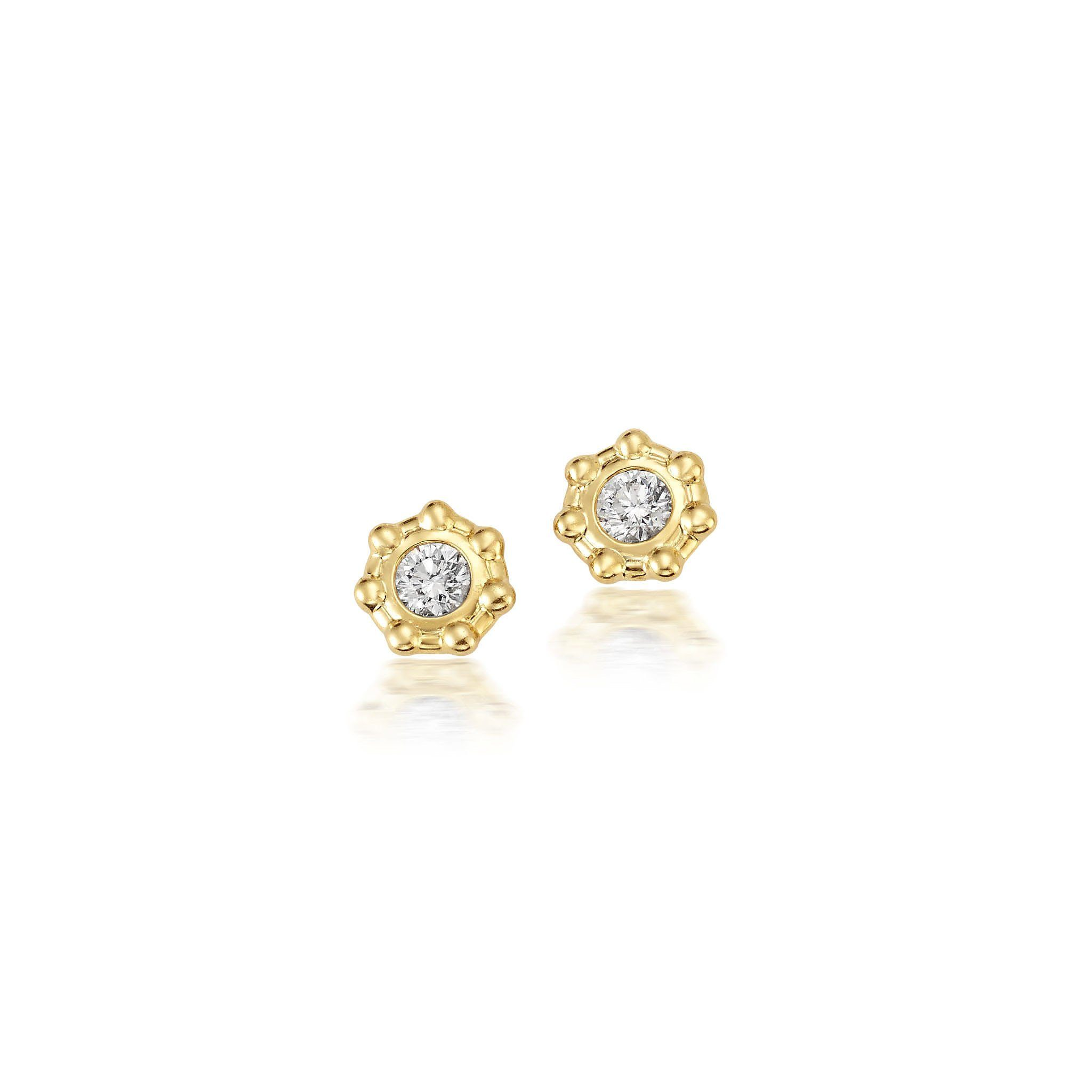 Diamond Sol Studs Jewelry Bayou with Love