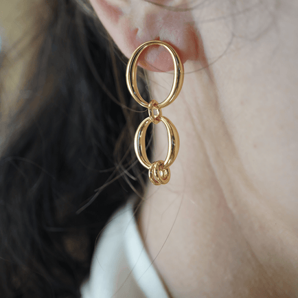 Small Zoe Earring Jewelry Bayou with Love