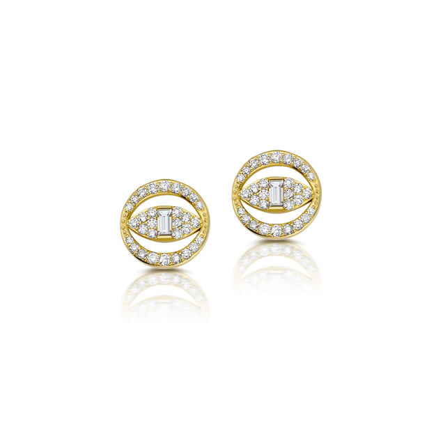 The Good Eye Studs Jewelry Bayou with Love