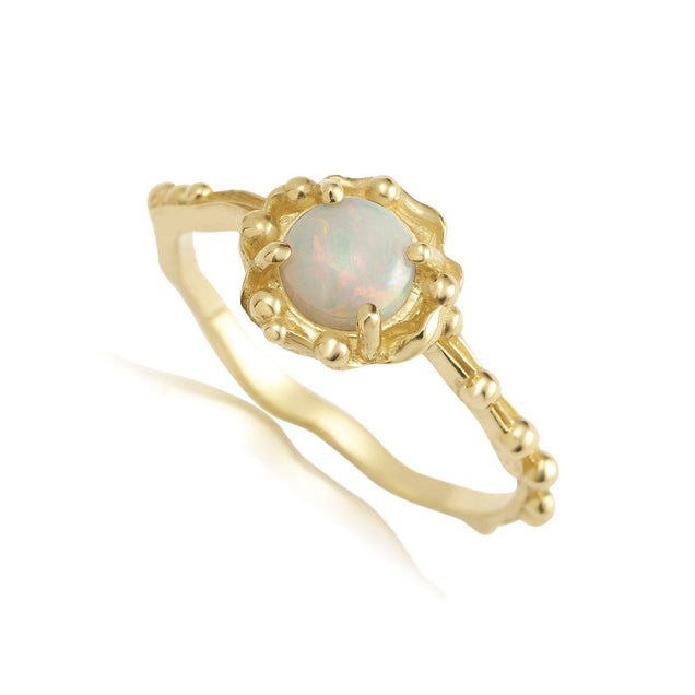 Opal Water Ring Jewelry Bayou with Love