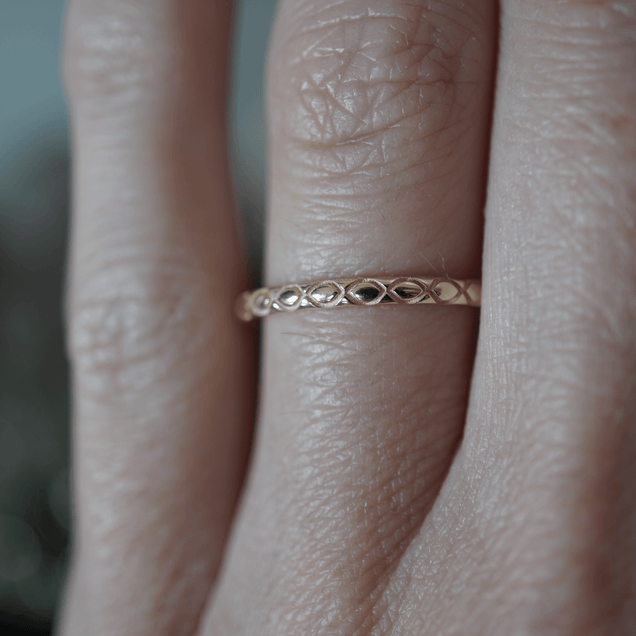 Infinity Band Bridal Jewelry Bayou with Love