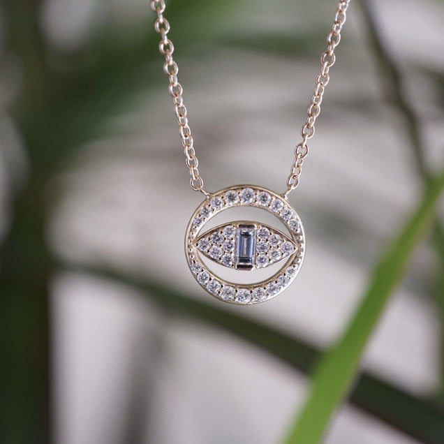 The Good Eye Necklace Bayou with Love