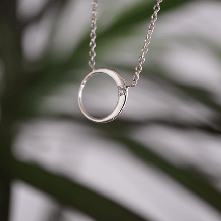 North Star Lunar Necklace Bayou with Love