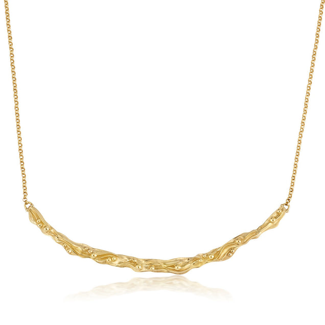 Golden Oceane Necklace Jewelry Bayou with Love