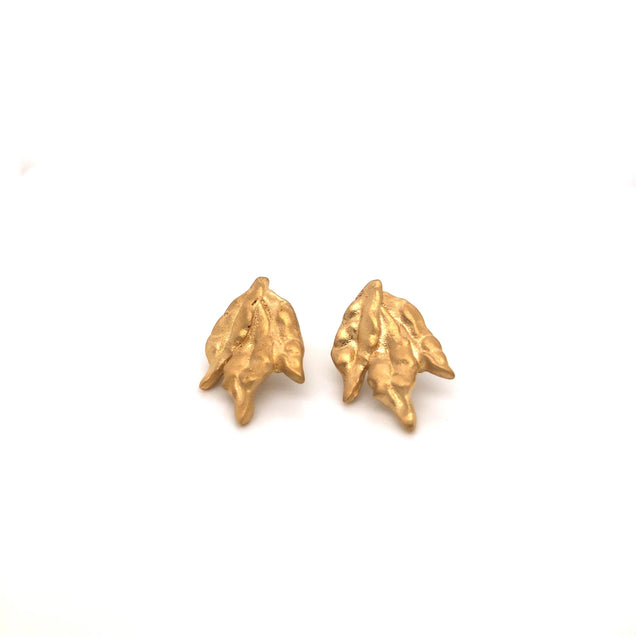 Dried Sage Studs Jewelry Bayou with Love