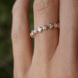 CLASSIC DIAMOND BAND Bridal Jewelry Bayou with Love