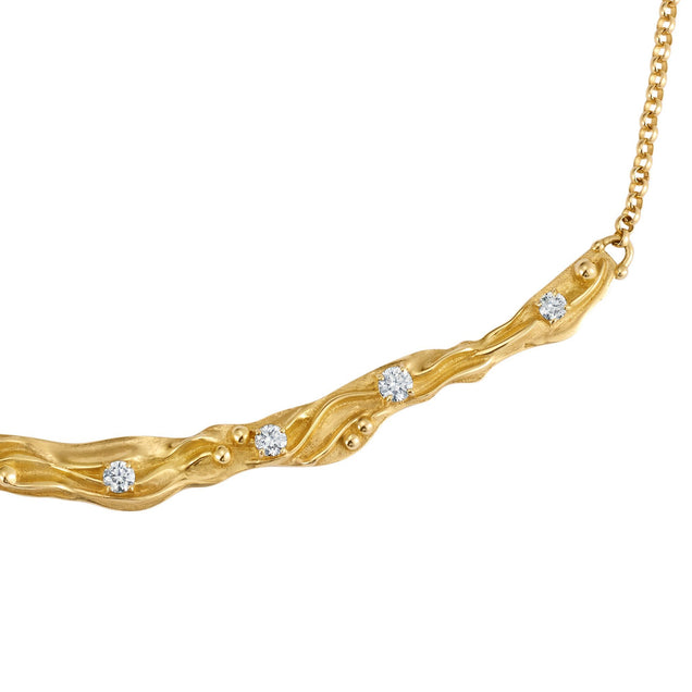 Diamond Oceane Necklace Jewelry Bayou with Love