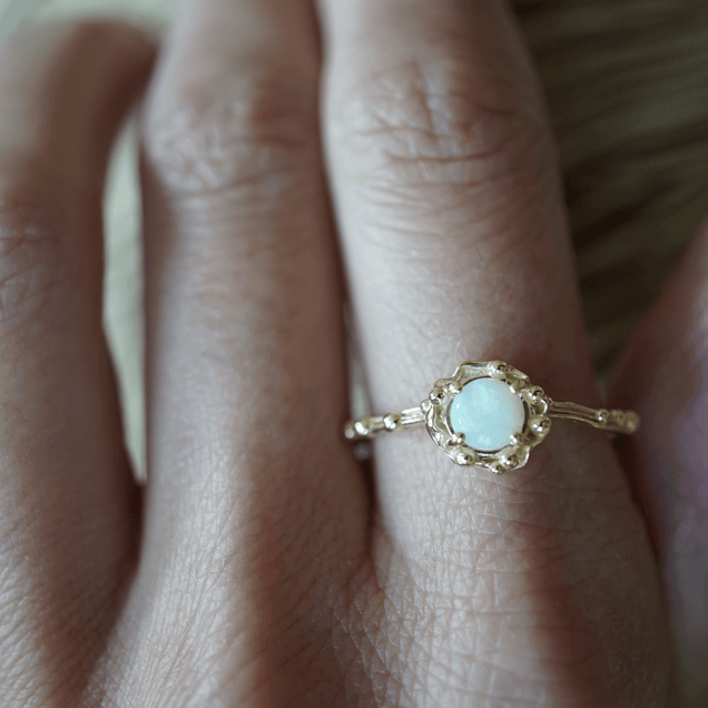 The Opal Water Ring Jewelry Bayou with Love