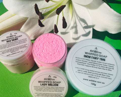 Whipped Soap 100g