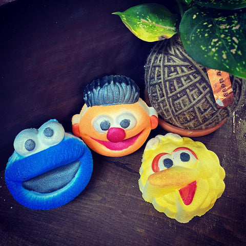Sesame Street Bathbombs