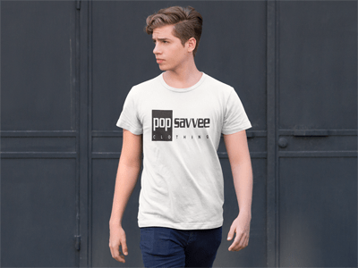 REC LOGO COLLECTION (B/W) - Pop Savvee Clothing