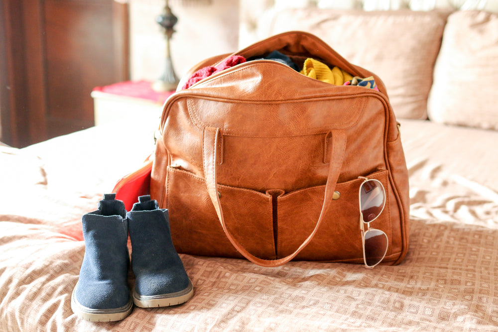 What To Pack For A Weekend Getaway: How to Pack Light.