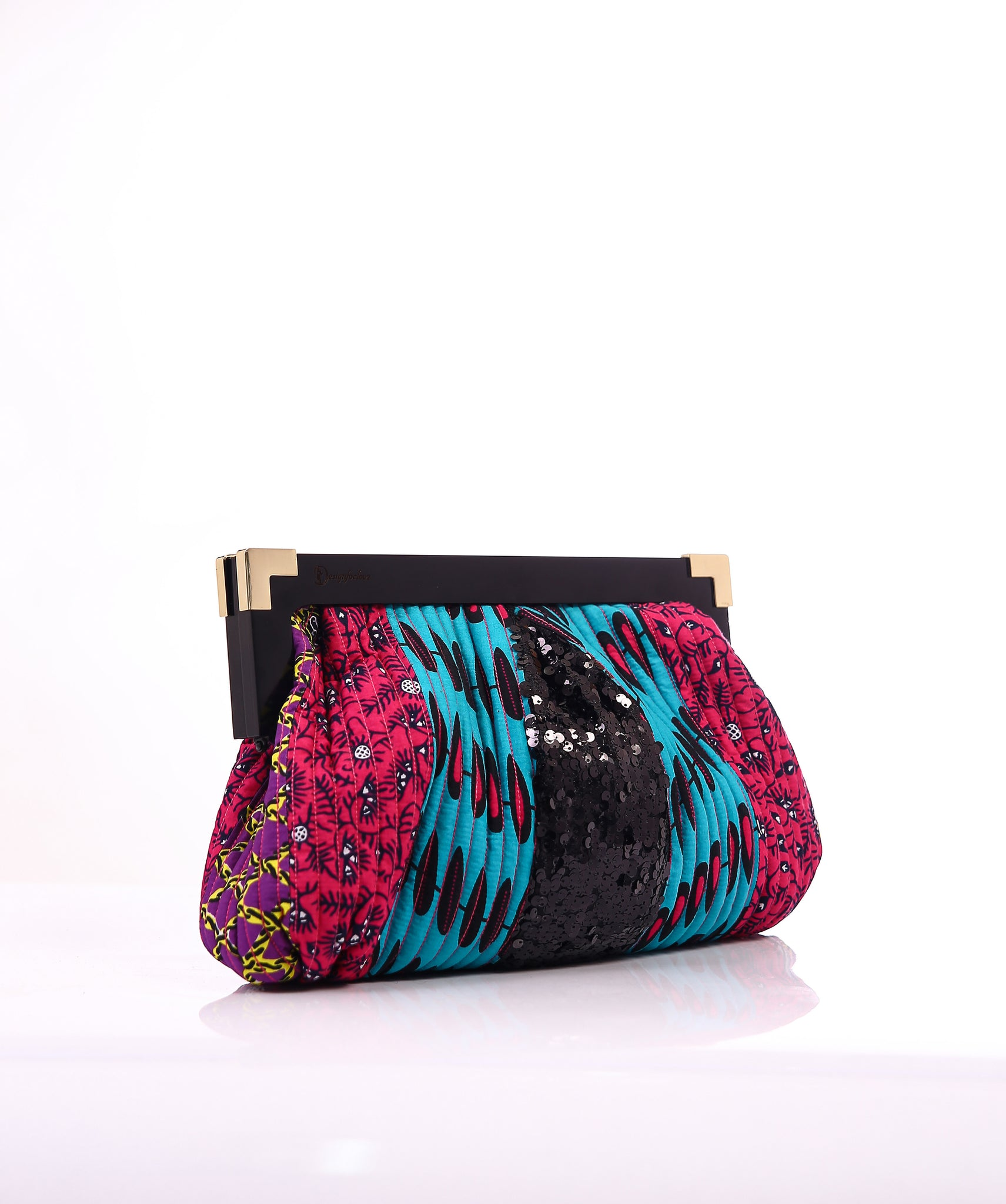 Quilted Multikra Clutch