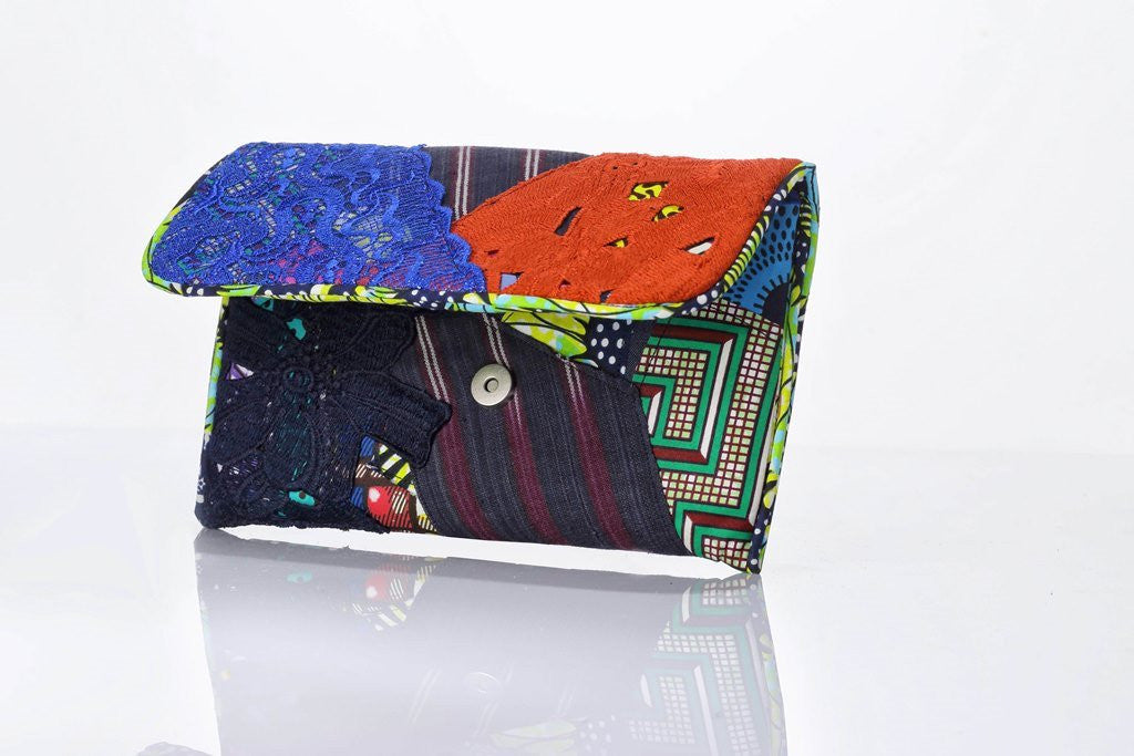 Mix – Match Ankara Envelope Clutch