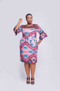 Bell Ankara Shift Dress