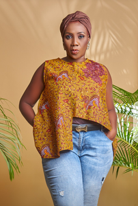Asymmetric Ankara Top