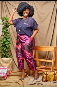 NK Silk pant Set