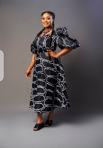 Ayinke Flare Dress