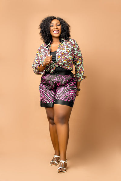 Chinwe Adire Short