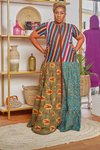 Samantha Ankara Long Dress