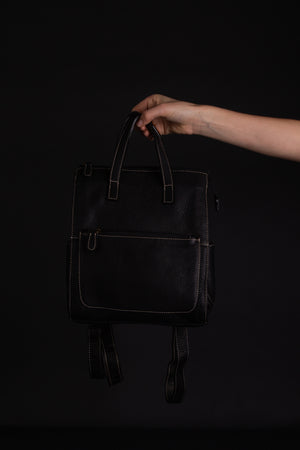 Open image in slideshow, Jax Leather Handbag/Backpack