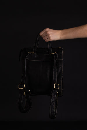 Jax Leather Handbag/Backpack