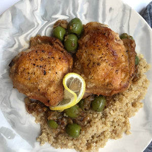 Savory Chicken with Green Olives