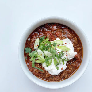 Keto Slow Cooker Chili